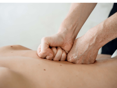 Massage deep tissue de la cure thalasso
