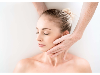 Massage de la nuque relaxant